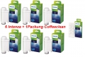Saeco Philips Brita Intenza Wasserfilter 6 St.+ 1 Packung 6 St. Saeco Coffeeclean