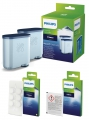 SAECO AquaClean Wartungs-Set 2 x AquaClean 1 x 6 Tabs Coffeeclean 1 x Milk Cleaner (1 Stück)